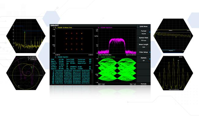 SVA1000X 系列频谱&矢量网络分析仪多功能加持:5合1