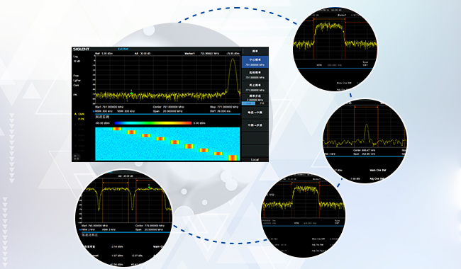 丰富的信号功率测量