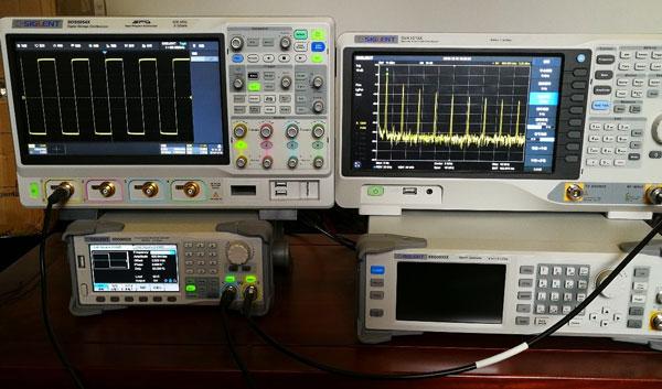 时域Vs频域对比测试系统